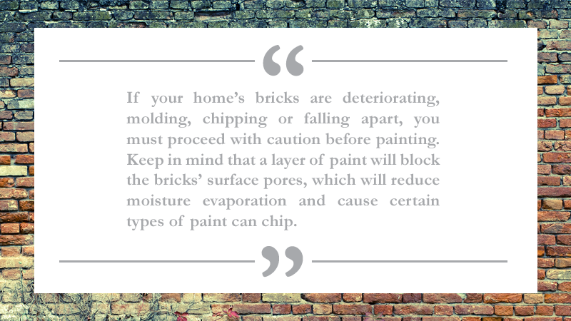 Painting Your Brick House